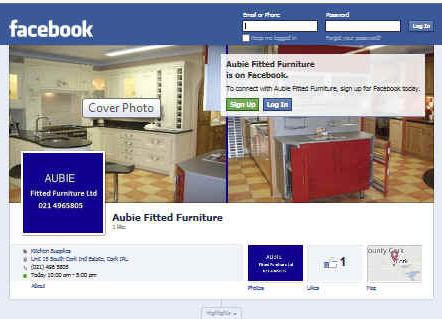 Facebook business pages cork for H furniture facebook